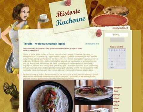 historie kuchenne