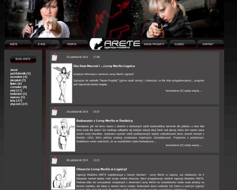 agentki arete blog