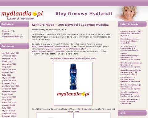 mydlandia blog