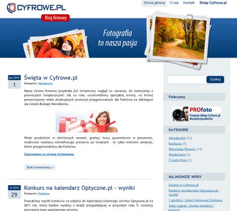 cyfrowe blog