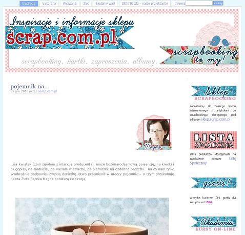 scrap.com.pl blog