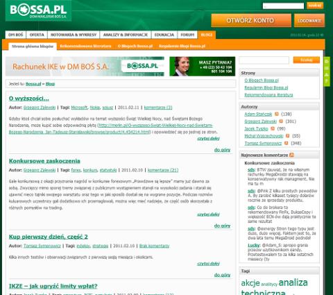 bossa blog