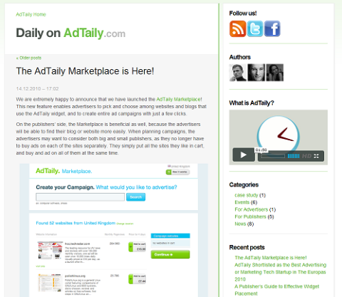 adtaily blog