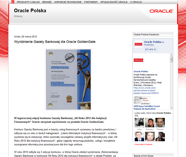 blog oracle polska