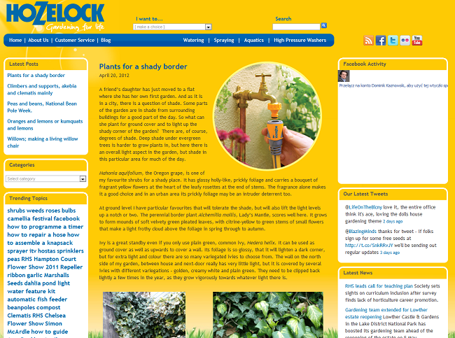 hozelock blog