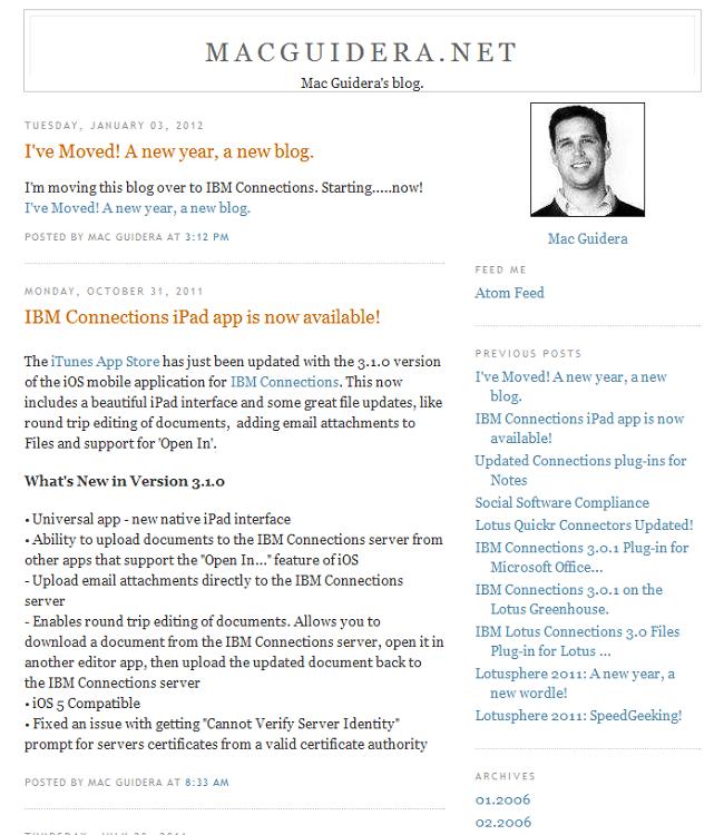 IBMers blog