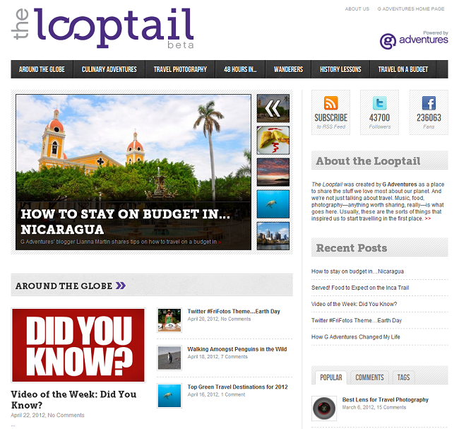 looptail blog