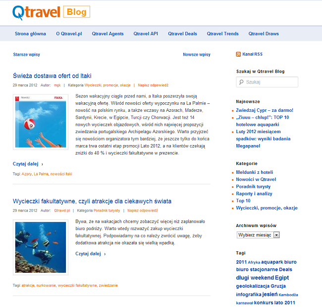 qtravel blog
